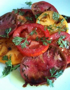White Truffle Balsamic Vinegar Tomatoes