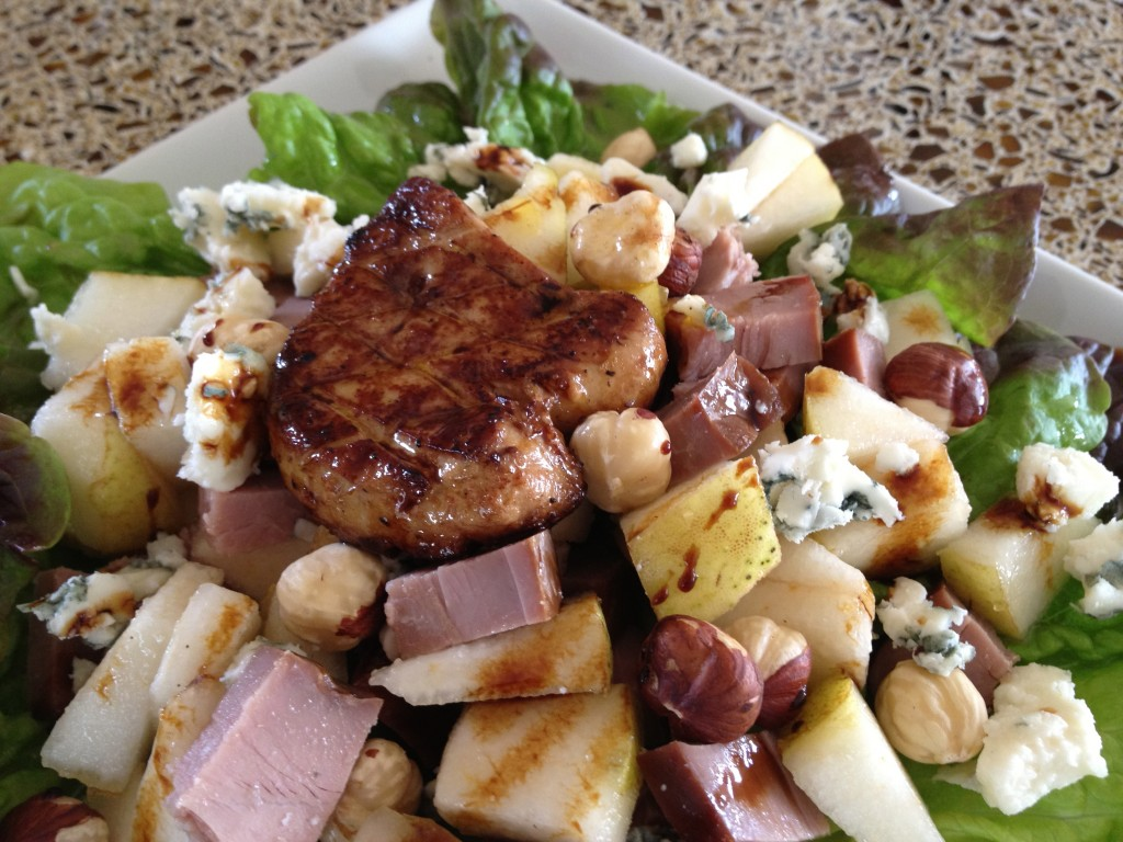 Foie Gras and Duck Breast Salad