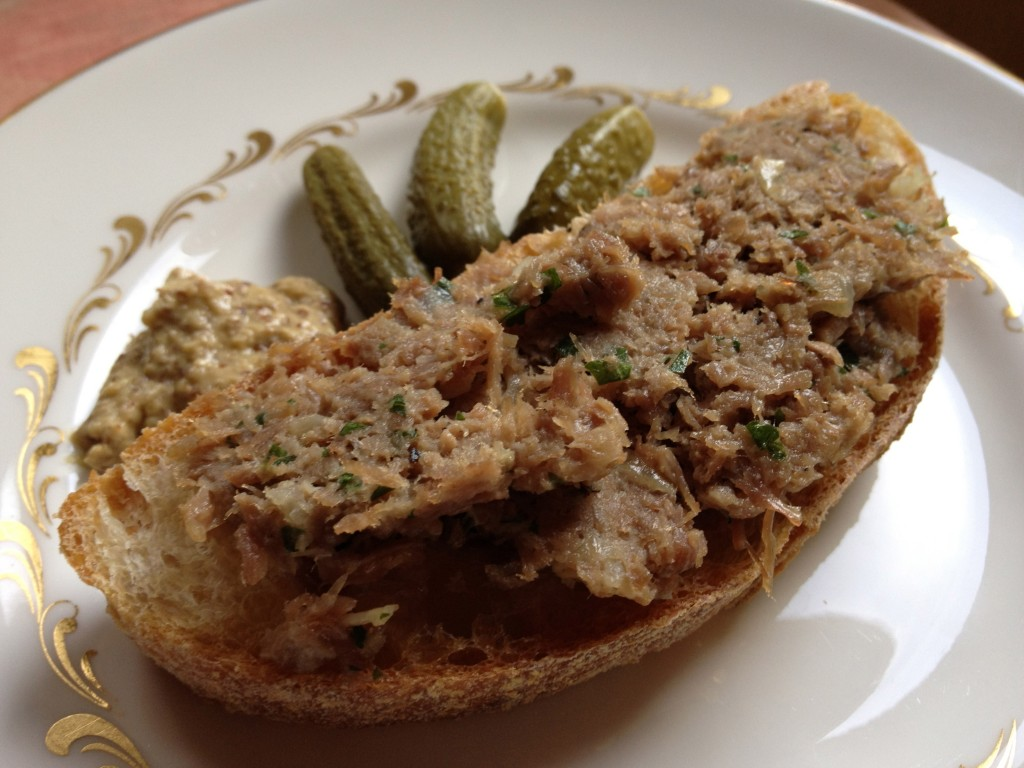 goose or duck rillettes