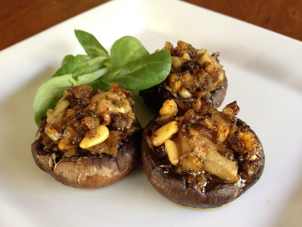 Foie Gras Recipes: Foie Gras Stuffed Mushrooms