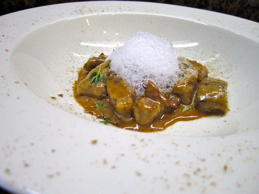 Porcini Gnocchi with White Truffle Foam